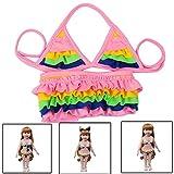 TianranRT Sommer Badeanzug Für 18 Zoll Amerikanisch Puppe Zubehörteil Mädchen Spielzeug