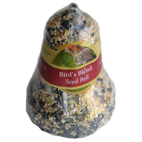 Heath Outdoor Products Bird de Mélange de Graines de Gâteaux Bell avec Crochet intégré pour Une instantanément et Pratique à Suspendre par