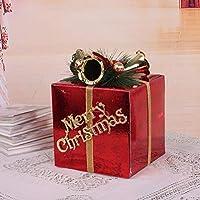 KYWBD Decoraciones de Ventana de Navidad,Caja