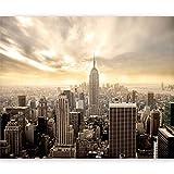 murando Fotomurales Nueva York 350x270 cm XXL Papel pintado tejido no tejido Decoración de Pared decorativos Murales moderna de Diseno Fotográfico New