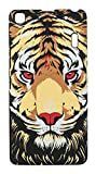 Sun Mobisys®; LENOVO A7000 and LENOVO K3 NOTE Back Cover; Touch feel Embossed Printed Back Case for LENOVO A7000 and LENOVO K3 NOTE - TIGER