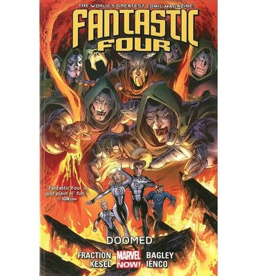 [ FANTASTIC FOUR VOLUME 3: DOOMED (MARVEL NOW) (FANTASTIC FOUR) ] Fantastic Four Volume 3: Doomed (Marvel Now) (Fantastic Four) By Fraction, Matt ( Author ) Mar-2014 [ Paperback ]