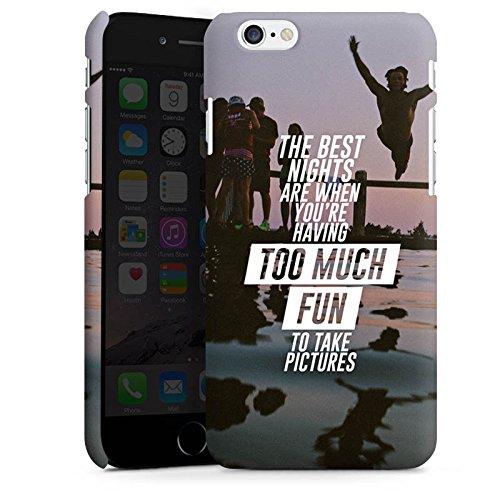 Apple iPhone X Silikon Hülle Case Schutzhülle Sprüche Spaß Feiern Premium Case matt