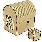 Azeeda 'Bloc-Notes' Grand Coffre au Trésor / Boîte à Bijoux (TC00025771)