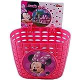 GUIZMAX Panier vélo Minnie Mouse Enfant Fille