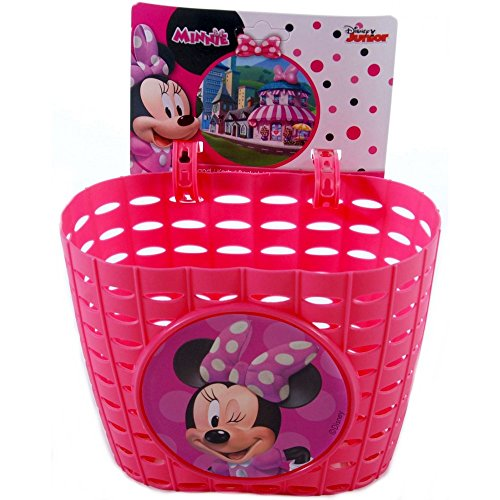 Cesta bicicleta Minnie Mouse niña chica