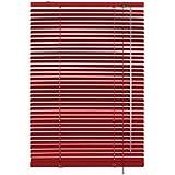 Gardinia 10007315 store vénitien en aluminium 25 mm blanc 60 x 175 cm, rouge, fuschia
