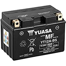 Batería Yuasa yt12a de BS, 12V/9,5ah (tamaño: 150x 87x 105) para Suzuki GSF1250a/SA Bandit Diseño Año 2008