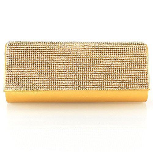 Saile's - Borsetta senza manici donna (oro)