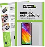 dipos I 2X Schutzfolie matt passend für LG G7 One Folie Bildschirmschutzfolie