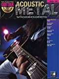guitar play along volume 37 acoustic metal partitions cd pour tablature guitare