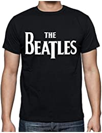 The Beatles Black T-shirt,cadeau,Homme - Black,t shirt homme
