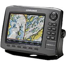 """Lowrance HDS- Gen2 Touch traceur 8 m 8 """"avec carte MicroSD vierge &téléchargeable Navionics carte-Noir"""