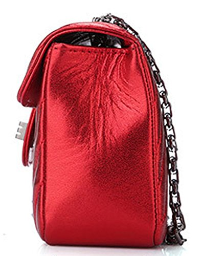 Keshi Schaffell Cool Damen Handtaschen, Hobo-Bags, Schultertaschen, Beutel, Beuteltaschen, Trend-Bags, Velours, Veloursleder, Wildleder, Tasche Weinrot