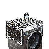 VOSAREA Vosarea Verdicken Sie Baumwollleinen-Trockner-Abdeckung Wasserdichte Anti-Spritzen- und Anti-Sonnenlicht-Bestrahlungs-Abdeckung für automatische Waschmaschine des Rollentyps
