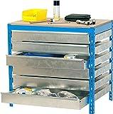 Simonrack bt-5 - Kit box6 840x900x600mm azul madera
