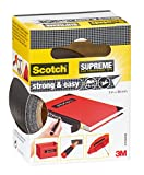 Scotch 4105B38 Gewebeband Strong And Easy Supreme, sehr hohe Klebkraft, 38 mm x 3 m, schwarz