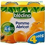 Blédina Pomme Et D'Abricot (4/6 Mois) 4 X 130G - Paquet de 4