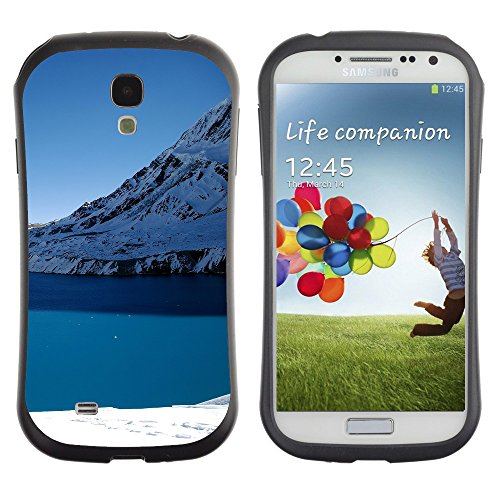 Super Galaxy iFace Series Tpu Silicona Carcasa Funda Case // V00005754 Opinión del invierno del lago de montaña // Samsung Galaxy S4 S IV SIV