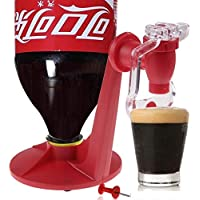 wondeful Bebida Saver Dispensador linkspe Home Bar Coca Cola lata de soda suave potable grifo Rojo