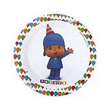 Pocoyo Verbetena 016000381 - 8 Plates, 18 cm