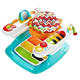 Fisher-Price Baby Gear DMR09 - Baby Piano Tante Attività 4 in 1, Multicolore