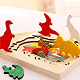 Best Small World Toys Toys For 3 Yr Olds - BBLIKE Jigsaw Wooden Puzzles Toy for Kids, 3D Review