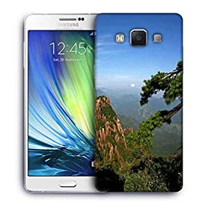 Snoogg Trees On The Mountain Top Designer Protective Phone Back Case Cover For Samsung Galaxy A7