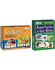 Creative Educational Aids P. Ltd. Words & Animal Families