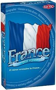 Tactic 02689 France Quiz Voyage - Juego de Preguntas y respuestas sobre Francia (Contenido en francés) Importado de Francia