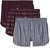 Lacoste Underwear Herren Boxershorts Multipack Boxer (3pk) -160569, 3er Pack, Mehrfarbig (Sortiert 1 901), X-Large
