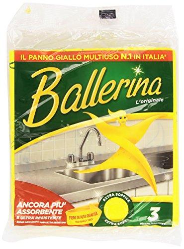 Ballerina - Panno Giallo, Multiuso, 3 (Giallo Ballerina)