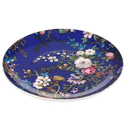 Maxwell & Williams Kilburn Floral Muse, 20 cm, Geschenkbox, Porzellan, WK09520 Teller, blau, 20 x 20 x 2 cm Floral 2 Teller