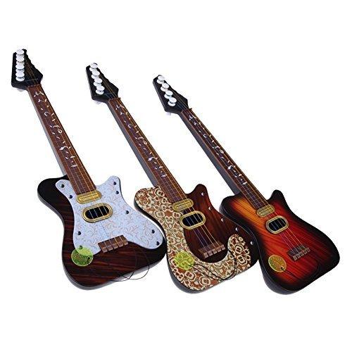 Juguete de guitarra - TOOGOO(R)Guitarra de simulacion de 4 cuerdas de ninos serie de juguetes educativos de primera infancia