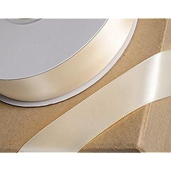Schleifenband 16 mm Hochzeit creme Satin 2 m Satinband 0,55 €//m