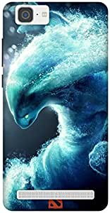 The Racoon Grip Morphling hard plastic printed back case / cover for Vivo X5 Max