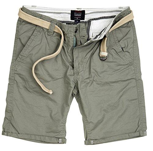 Surplus Chino Shorts, Olive Light, Größe XXL Vintage Washed Chino