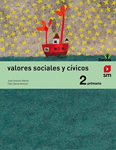 Valores sociales y cívicos 2 primaria savia