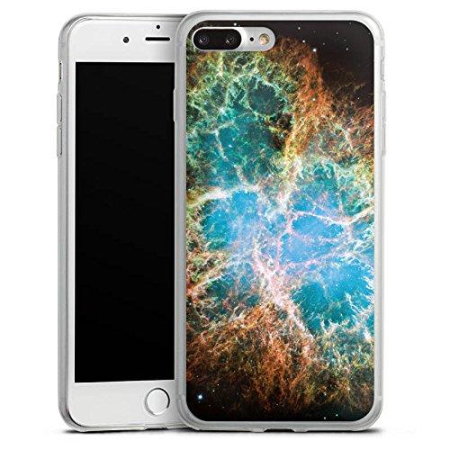 Apple iPhone X Slim Case Silikon Hülle Schutzhülle Galaxy Muster Universum Silikon Slim Case transparent