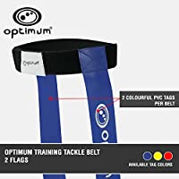 Optimum Touch Rugby Tackle Tag Belt and 2 Flags