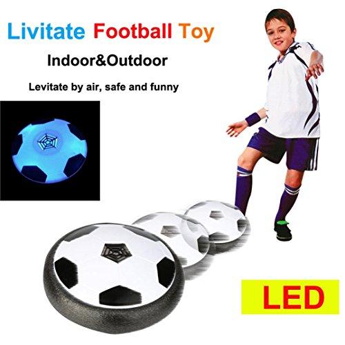 fttraining-Ball-Fußball-Fußball-Ziel-Satz-Schwebeflug-Ball mit 2 Toren (Kleinkind Fußball Kostüm)