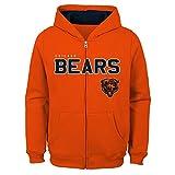 Outerstuff NFL Chicago Bears Jungen Kids & Youth angegebenen Full Zip Fleece Hoodie, Jungen, 9K1B72hg9 BRS B80-BXL20, Orange, Youth Boys X-Large(18)