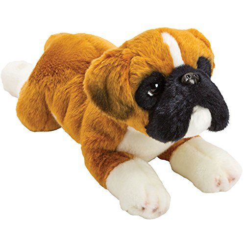 For Someone Very Special – Super Cute Doggy Yomiko Resting Boxer Soft Toy Dog – Medium – Number One Gift Present Idea For My First Teddy Bear – Girl Girls Boy Boys Children Kids Child – Suitable For Age 3+