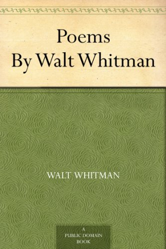 Poems By Walt Whitman (English Edition)
