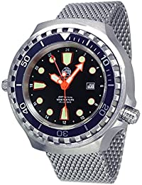 Tauchmeister Automatic GMT Big size diver watch - Milanaise band T0278-MIL