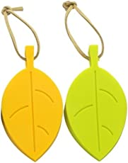 Syga Silicone Leaf Shape Block Wedge Doorstoppers (2 Pieces)