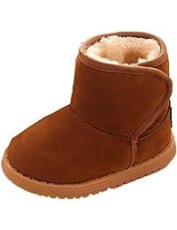 Ularma Zapatos de bebé, Cute algodón nieve Botas de invierno cálido