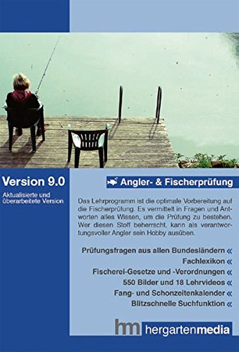 Angler- und Fischerprüfung 9.0: Lernprogramm und Datenbank (Online-datenbank)