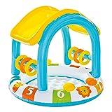 Intex 57123NP - Piscina infantil hinchable con parasol 45 litros