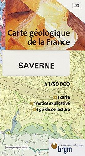 Carte géologique : Saverne